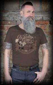 Rumble59 T-Shirt The Woodie Garage-XL