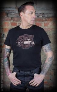 Rumble59 - T-Shirt Ye Olde Hotrod Shoppe L