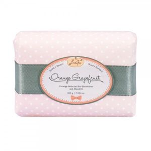 Badefee - Cremige 200g-Seifen Orange Grapefruit
